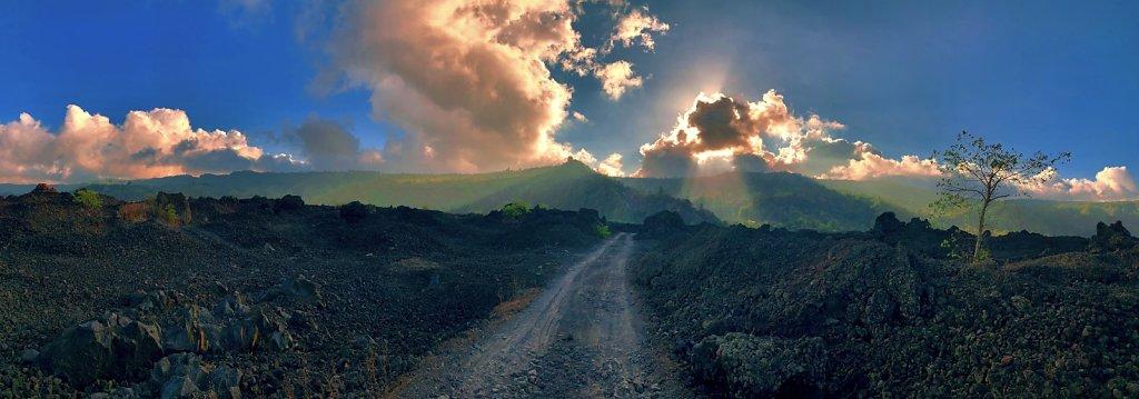 Routes volcaniques du Mont Batur