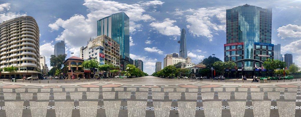 N'guyen Street Panorama